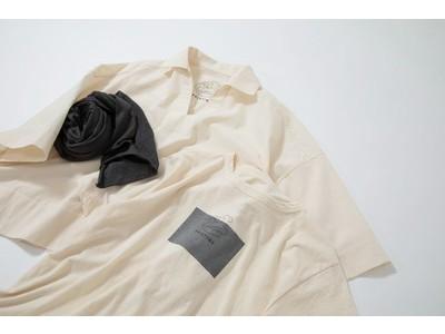 衣類の生産過程で出る布を回収して新たな製品を作るプリスティン、リコットンシリーズより新作登場