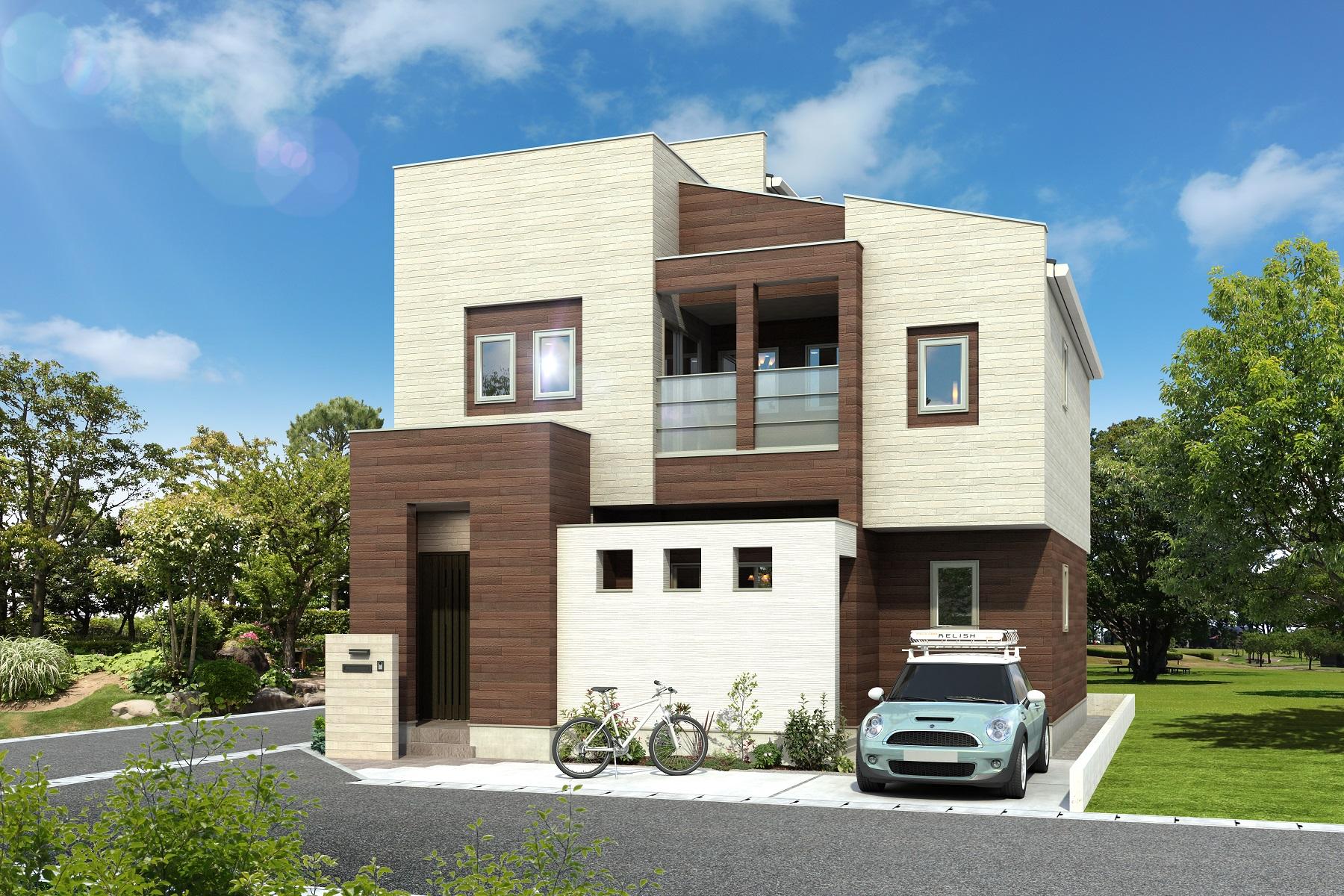 エアコン2台で家中を空調、高気密・高断熱住宅のエネージュAが発売