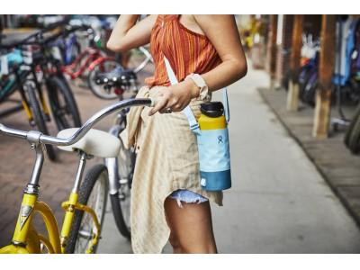 この夏はHydro Flask(R)︎(ハイドロフラスク)をおしゃれに持ち歩こう!人気ボトルスリングの爽やかな新カラーが登場!