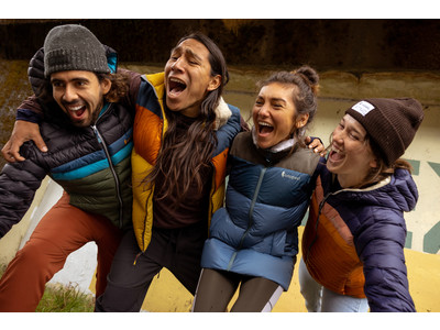 【Cotopaxiのアパレル、待望の販売開始!】季節感たっぷりのフリースやジャケットなど‥この秋冬のアウターは、カラフルにエシカルに楽しみましょう!