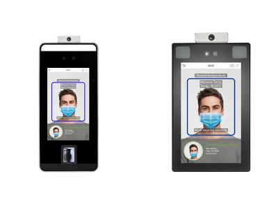 【感染拡大防止に最適】非接触で顔認証&手のひら認証が可能な、同時に発熱とマスクを検知する認証端末の受注を開始。