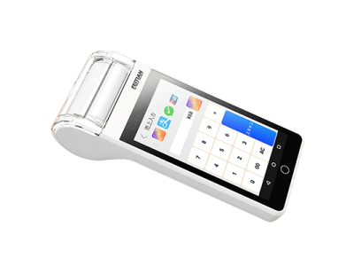 機能の拡張性が高いQRコード決済端末を出荷開始。Android7.0搭載、高速サーマルプリンター内蔵、電池交換も可能。