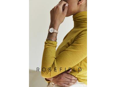 オランダ発の腕時計ブランド「ROSEFIELD(ローズフィールド)」より、人気のSmall Editコレクションに日本限定モデルが登場。