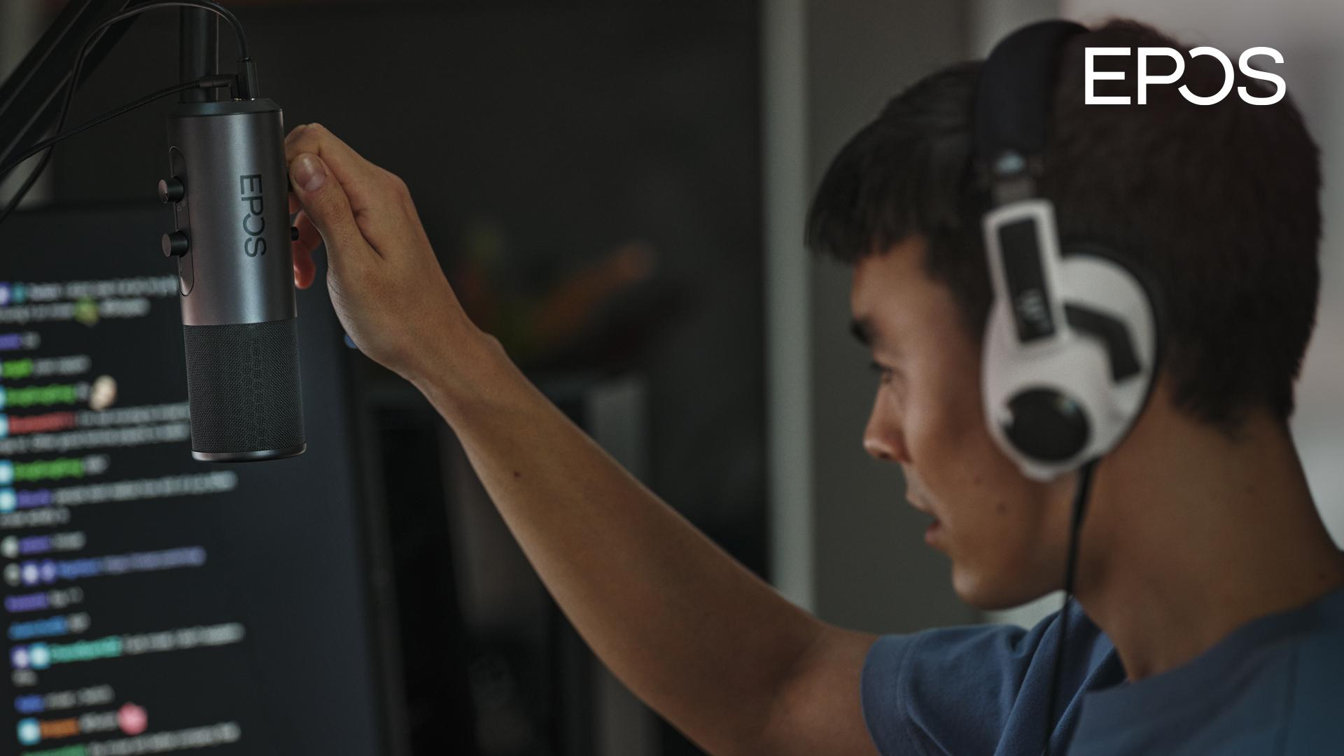 EPOS、スタジオ放送品質のゲーマー向け配信用マイク B20を発表 画像
