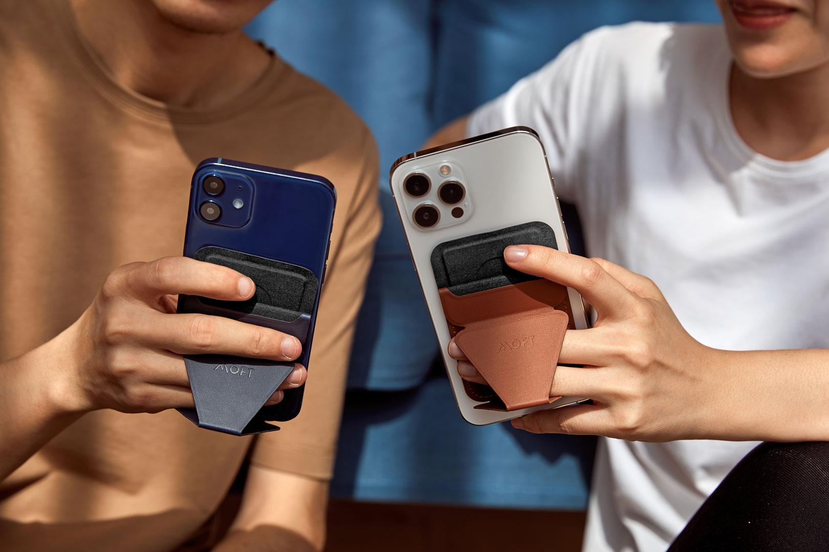 MOFTより、iPhone12 Magsafe対応 ウォレット&スタンドを1月5日(火)よりAMAZONにて販売開始!