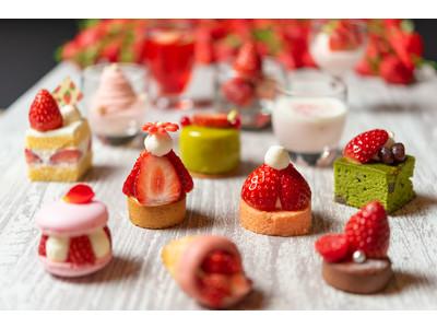 スマホから注文可能な「非接触オーダーシステム」を初導入 旬の味覚、国産プレミアムいちごを贅沢に使用したスイーツが盛りだくさん! 「Sweets Parade」~ストロベリー~