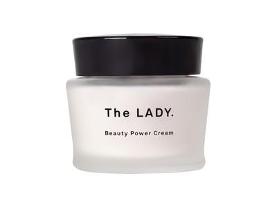 The LADY.ビューティパワークリーム、リデビュー。2021年2月28日(日)新発売