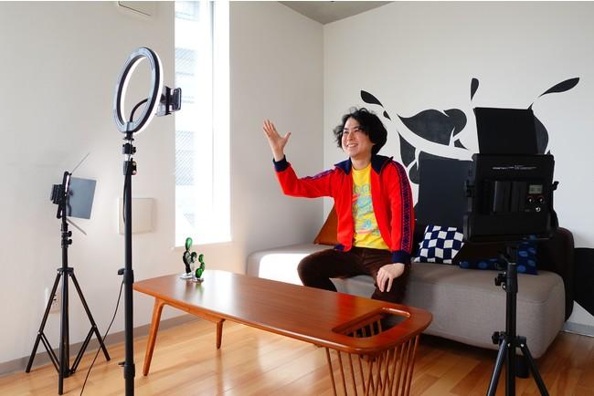 機材完備、スマホ1つで即撮影開始!1時間2000円からで気軽に使える「動画配信クリエイター専門スペース」レンタル開始