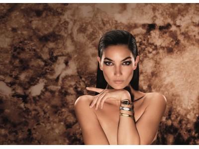 リリー・オルドリッジがセルペンティ  ウォッチを纏いブルガリの広告キャンペーンに登場