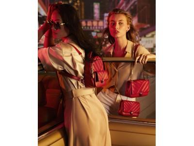 ブルガリ2020年春夏アクセサリーコレクションから、生命力と情熱を映す鮮やかなレッドカラーの新作バッグが登場