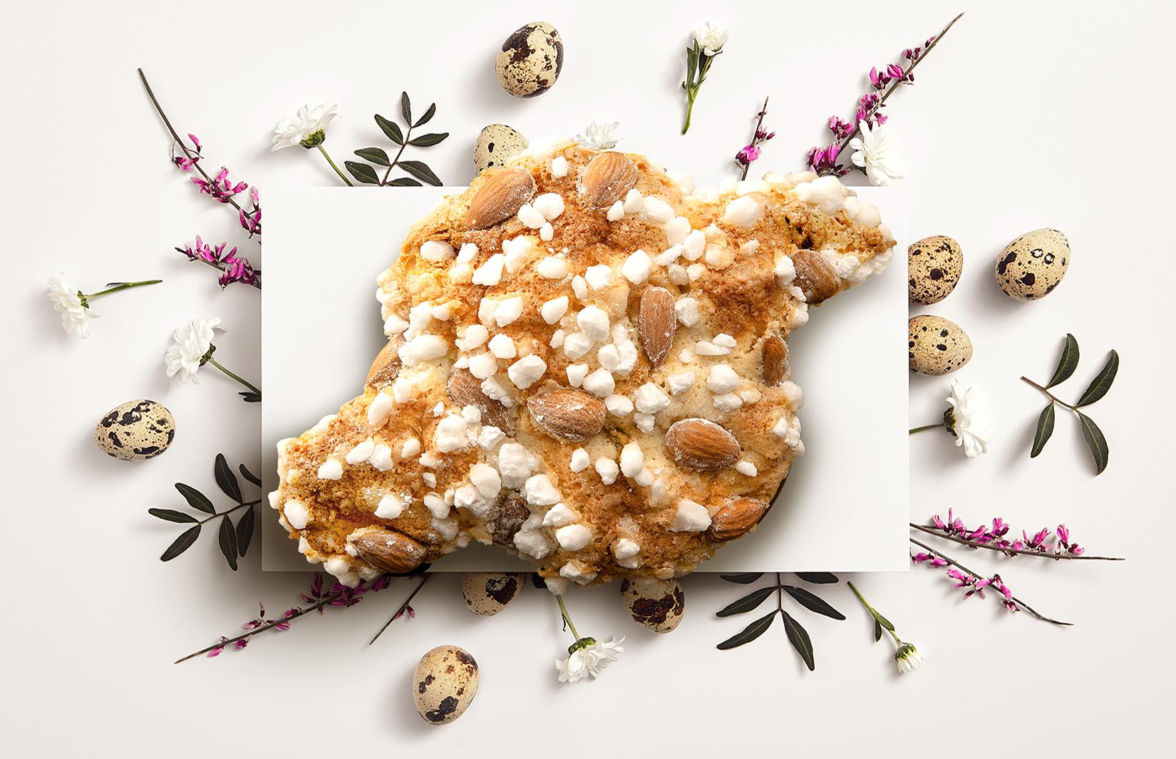 ブルガリ イル・チョコラート 春の訪れと平和への願いを込めて - イタリア復活祭のお菓子「コロンバ」... 画像