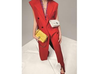 ブルガリ 2020 年秋冬アクセサリーコレクションから、パールのように光り輝く新素材の新作バッグが登場