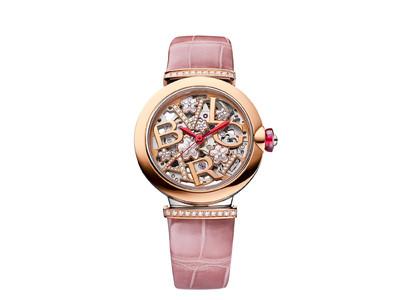 情緒ある美しき日本の象徴、崇高なシンボルの桜が咲き誇る「ルチェア スケルトン 桜 日本限定モデル」 誕生
