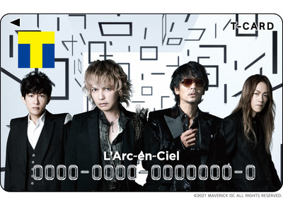 L'Arc~en~Ciel 結成30周年記念!  Tカード(L'Arc~en~Ciel)7月30日(金)より店頭発行受付スタート!!