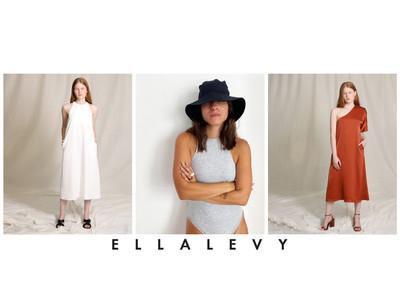 ISRAERU マーケットプレイス、クラシックとモダンが融合したファッションブランド「ELLA LEVY」が新登場