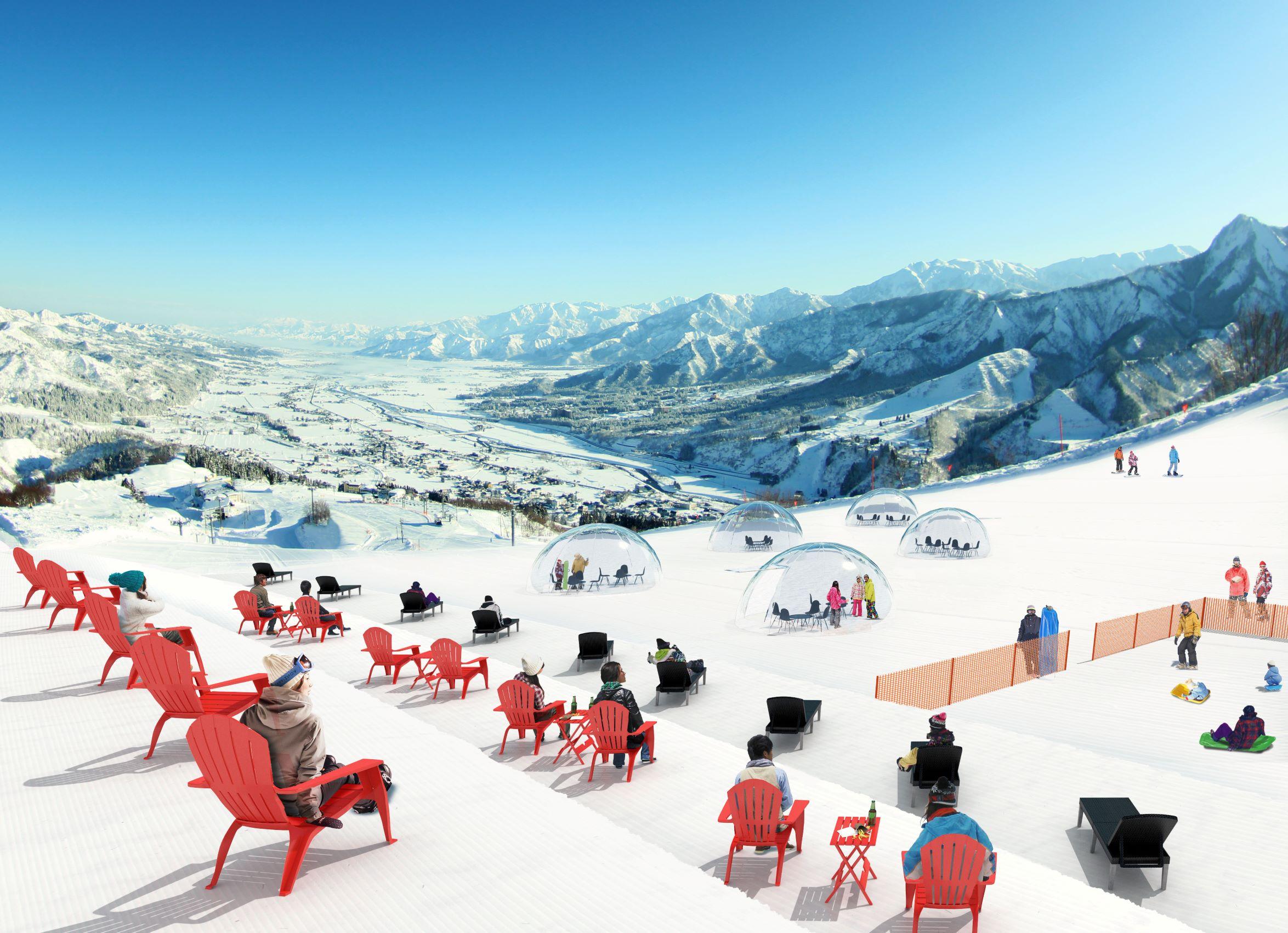 スキーだけではない「スマートなアウトドア」石打丸山スキー場スキー場が提案。新しいスノーアクティビティ!スノーガーデンエリア 2020年12月26日オープン!