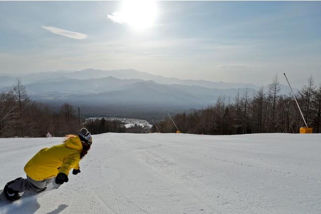 まだまだスキー・スノーボードできます!春スキー・スノーボードの営業のご案内 アルピナリゾーツスキー場