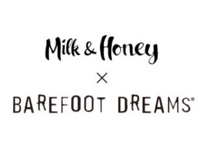 モデルのクリス-ウェブ 佳子さんや竹下玲奈さんによる、雑誌『Milk & Honey』×BAREFOOT DREAMSトークショーを開催!