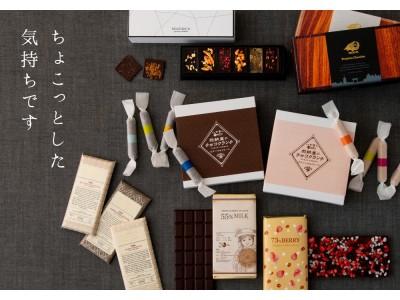 AKOMEYA TOKYOのバレンタインデー「ちょこっとした気持ちです」をスタート