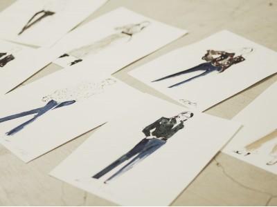 芸術の秋、注目のイラストレーターNatsu Yamaguchiさんによるライブポートレイトイベントをエキップモン銀座店にて開催!