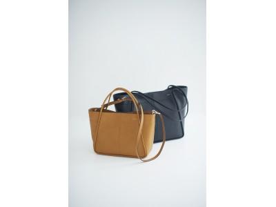 SAZABYから上質で、軽くて、使いやすいレザートートが発売!!「バッグが軽いと、どこまでも行ける気がする。」