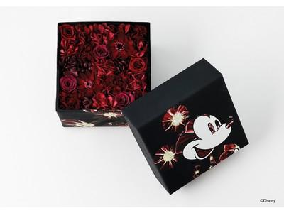 ニコライ バーグマン フラワーズ & デザインのフラワーボックスに、ミッキーマウスのデザインを施したスペシャルなアイテムがエストネーション六本木ヒルズ店にて限定発売