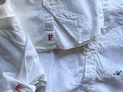 B Corp取得ブランド「Frank&Eileen」が日本橋店で刺繍イベントを開催