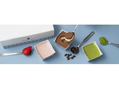 【ザ・シフォン&スプーン】北海道産のなめらかマスカルポーネチーズと、しっとりシフォン生地を組み合わせた新商品『ザ・ティラミスシフォン』3種