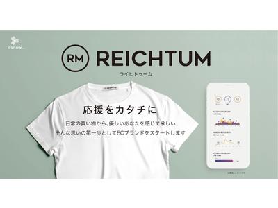 「GoodMorning」にてクラウドファンディング開始。エシカル消費の可視化を目指す新しいライフスタイルブランド「REICHTUM」。