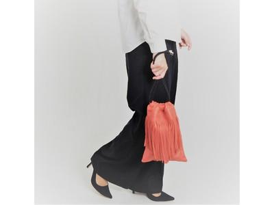 CALDO...TOKYO JAPANが展開する『Natalie/ナタリー』コレクションから、しっとりとした質感が気持ち良いフリンジ付き巾着バッグの新色が登場!