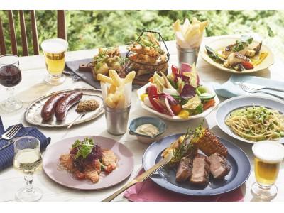 【KIHACHI】オーブンでじっくり蒸し焼きにした豚肉のココットローストなど、シェフこだわりのメニューをテラス席で楽しむ「シェフズビアテラス第二弾」
