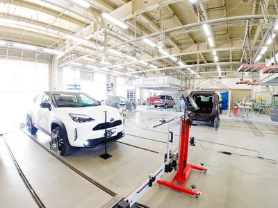 【カーメイク古川】宮城県の日本技能研修機構のエーミングセンターがOPEN!「地域統一料金」「最新機器完備」「48時間納車」にてASVの機能調整の代行サービスを開始