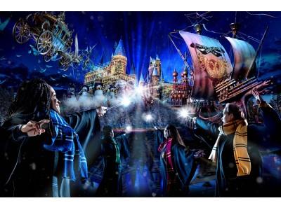 """聖なる夜の""""大魔法物語""""『ホグワーツ・マジカル・ナイト ~ウインター・マジック~』開幕"""