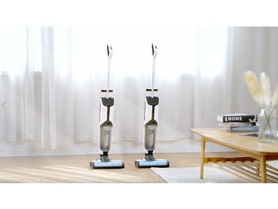 """床掃除の""""困りゴト""""総解決!吸引&水拭き、多機能スマート掃除機CleanRobot One"""