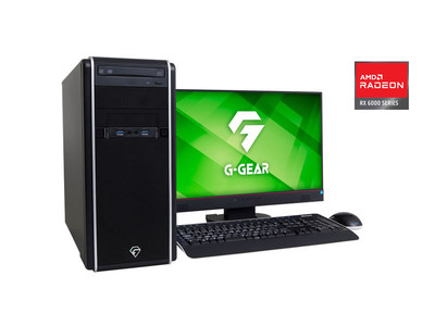 G-GEAR、AMD Radeon RX 6700 XT グラフィックス搭載ゲーミングパソコンを新発売