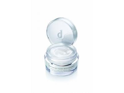 昨年ご好評いただいた数量限定品が再登場! 「d プログラム」より透明美肌に導くオールインワン薬用美白※1 ジェル 「ホワイトニングクリア ジェリーエッセンス」を限定発売。
