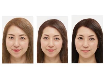 髪の明るさに合わせたメイクアップ 「色使い」×「メリハリ感の調整」で自然に印象アップ