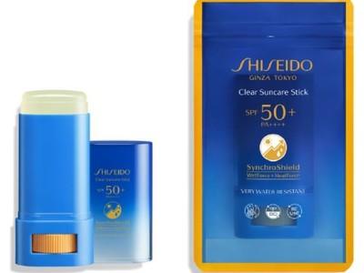 いつでも強力な紫外線から肌を守る「SHISEIDO」の新日焼け止めスティック 2021年5月1日(土)発売 ~外出先で手を使わず簡単に塗り直し可能、外袋に資生堂で初の生分解性フィルム採用~