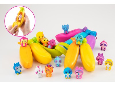 まるで本物のバナナみたい!?なコレクタブルトイ!「バナナーズ!」シリーズから待望の3本セットが登場!