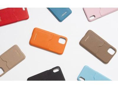 話題のレザーブランド「ラデリンヌ(L'ADELINE)」より、新商品のカードケース付きのiPhoneケースが10月に発売!