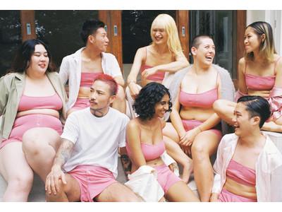 ピンクはいったい誰のもの?身につける人の性別を問わないアンダーウェア「REING Underwear」に新色・ピンク登場。