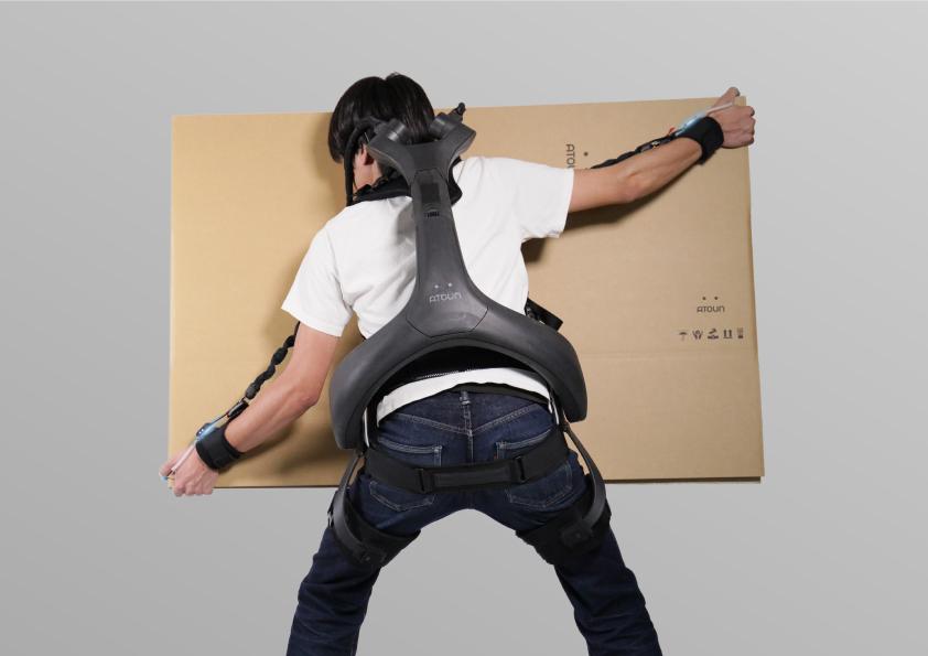 腕と腰を同時にアシストできる新しいパワードウェア「ATOUN MODEL Y + kote」8月3日から先行受注を開始
