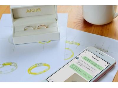 【おうち時間応援特典つき】「LINEでできるオーダーメイドの結婚指輪」を開始