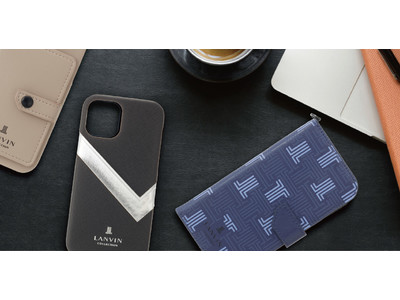 【ランバン コレクション】からiPhone13シリーズのスマートフォンアクセサリーが登場!