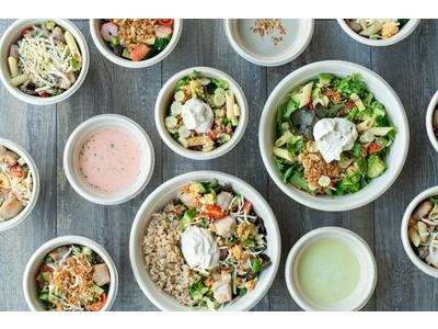 サラダショップGRIT TODAY「健康意識を高める」3つの新メニューが登場