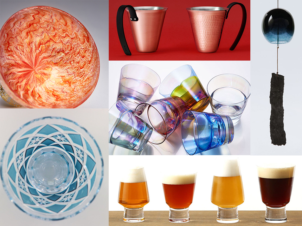 【銀座 蔦屋書店】オンラインフェア「夏の夜空を涼やかに楽しむ:風鈴と器」を開催。まるでシャボン玉のように可愛い風鈴や、透明感あふれる美しいグラスなどをご提案。