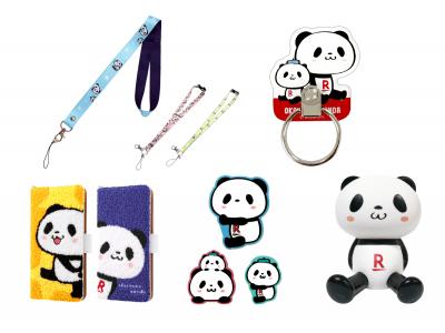 楽天モバイル、「お買いものパンダ」デザインのオリジナルスマートフォンアクセサリー全9製品を発売