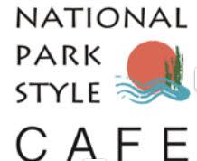 National Park Style Cafe  月替わりで全国全国34国立公園の特産品を取り入れたオリジナルメニューを販売開始!