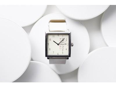 腕時計ブランドNomondayより初のバッグ本革を使用したアイコニックなスクエア型デザイン