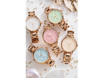 腕にキラキラ★好運を運んでくれそうな腕時計《LUCKY STAR》4Bより全国のHIROBで発売